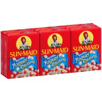 Sun Maid Vanilla Yogurt Flavored Raisins 6PK 1oz Boxes product image
