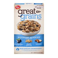 Post Great Grains Blueberry Morning Blueberry Cereal 13.5oz Box product image