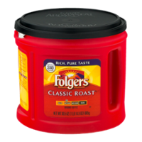 Folgers Coffee Classic Roast Medium Ground 30.5oz Can product image