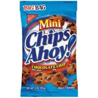 Nabisco Mini Chips Ahoy Chocolate Chip Cookies Big Bag 3oz Bag product image