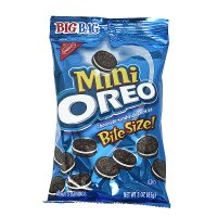 Nabisco Mini Oreo Cookies Big Bag 3oz Bag product image