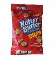 Nabisco Mini Nutter Butter Bites Cookies Big Bag 3oz Bag product image