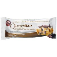 Quest Bar Protein Bar Chocolate Chip Cookie Dough 2.12oz Bar product image