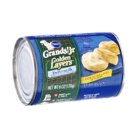 Pillsbury Grands Jr Golden Layers Buttermilk Flaky Biscuits  5CT 6oz PKG product image