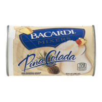 Bacardi Mixers Pina Colada Tropical 10oz Can product image