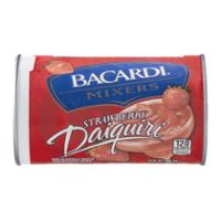 Bacardi Mixers Strawberry Daiquiri 10oz Can product image