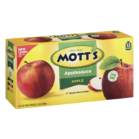 Mott's Applesauce Snack & Go! Pouches Original 12 Count 38.4oz product image