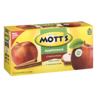 Mott's Applesauce Snack & Go! Pouches Cinnamon 12 Count 38.4oz product image