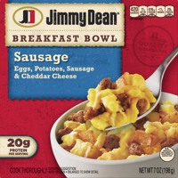 Jimmy Dean Breakfast Bowl Sausage 7oz PKG product image
