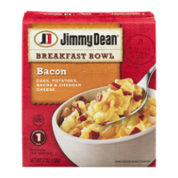 Jimmy Dean Breakfast Bowl Bacon 7oz PKG product image