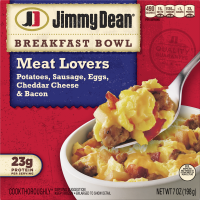 Jimmy Dean Breakfast Bowls Meat Lovers 7oz PKG product image