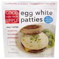 Good Food Made Simple Egg White Patties 10oz Bag product image