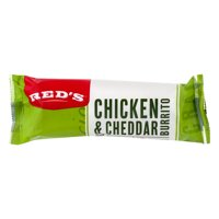 Red's Natural Foods Chicken & Cheddar Burrito 5oz product image