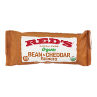 Red's Natural Foods Organic Bean & Cheddar Burrito 5oz product image