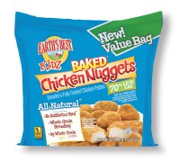 Earth's Best Kidz Baked Chicken Nuggets 16oz Bag product image