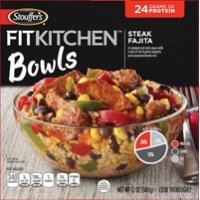 Stouffer's Fit Kitchen Bowls Steak Fajita 12oz PKG product image