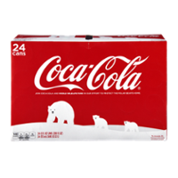 Coke Classic 24 Pack of 12oz Cans product image