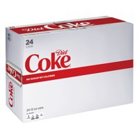 Coke Diet 24 Pack of 12oz Cans product image