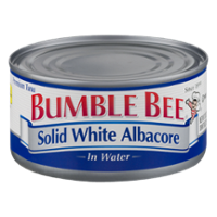Bumble Bee Tuna Solid Albacore in Water 12oz Can product image