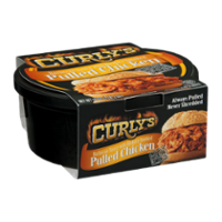 Curly's Pulled Chicken with Hickory Smoked Barbecue Sauce 16oz Tub product image