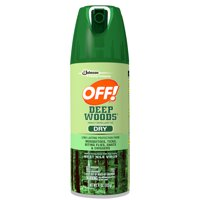 OFF! Deep Woods Insect Repellent VIII Dry 4oz Spray product image
