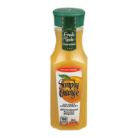 Simply Orange Original Orange Juice Pulp Free 11.5oz Bottle product image