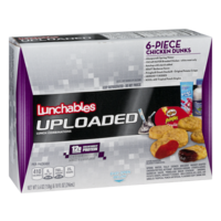 Lunchables Uploaded 6-Piece Chicken Dunks Lunch Combinations15.6oz Box product image