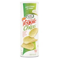Sensible Portions Garden Veggie Chips Sour Cream & Onion 5oz Can product image