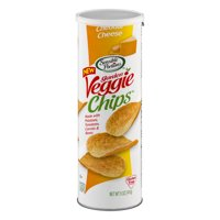 Sensible Portions Garden Veggie Chips Cheddar Cheese 5oz Can product image