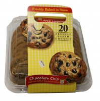 Store Brand AF Baked in Store Toll House Chocolate Chip Cookies 20CT 28.25oz PKG *(See Note)* product image