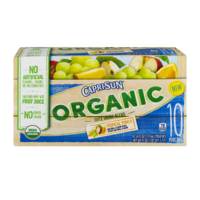 Capri Sun Organic Juice Drink Pouches Tropical Punch 10CT of 6oz. EA product image