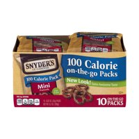Snyder's Of Hanover 100 Calorie Pack Mini Pretzels 10PK 9.2oz product image