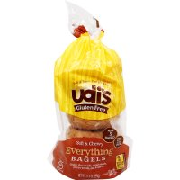 Udi's Gluten Free Everything Bagels 13.9oz (Frozen) product image