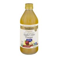 Spectrum Organic Unfiltered Vinegar Apple Cider 16oz BTL product image