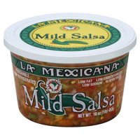 La Mexicana Mild Salsa 16oz Tub product image