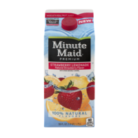 Minute Maid Premium Strawberry Lemonade 59oz CTN product image