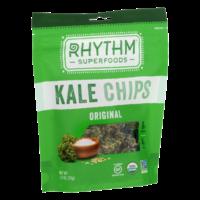 Rhythm Superfoods Kale Chips Original 2oz Bag product image