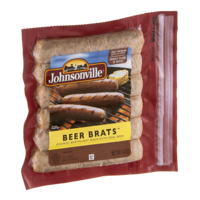 Johnsonville Fully Cooked Beer Brats  6CT 14oz product image