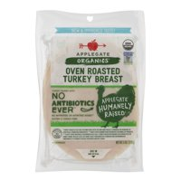Applegate Organics Sliced Organic Roasted Turkey Breast 6oz product image
