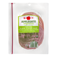 Applegate Organics Sliced Uncured Black Forest Ham 6oz product image