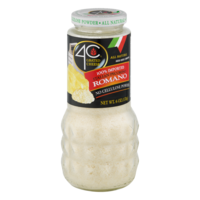 4C Grated Cheese 100% Imported Italian Pecorino Romano 6oz Jar product image