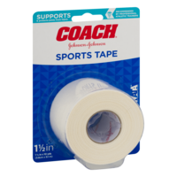 Johnson & Johnson Coach Sports Tape 1 1/2in x 10Yards Each product image