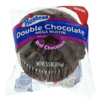 Hostess Jumbo Muffins Chocolate Chocolate Chip 5.5oz EA product image