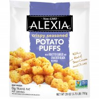 Alexia Foods Crispy Seasoned Potato Puffs 28oz Bag product image