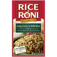 Rice A Roni Long Grain & Wild Rice Mix 4.3oz Box product image