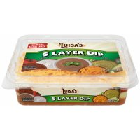 Luisa's Five Layer Mild Fiesta Dip 17oz Tub product image