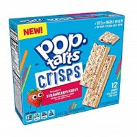 Kellogg's Pop-Tarts Crisps Frosted Strawberrylicious 6-0.98oz product image