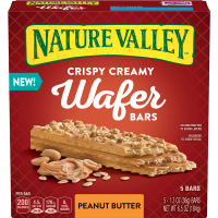Nature Valley Peanut Butter Crispy Creamy Wafer Bars - 6.5oz 5ct product image