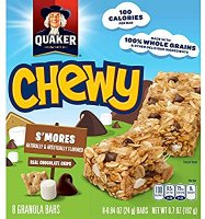 Quaker Chewy S'mores Granola Bars 6.7oz product image