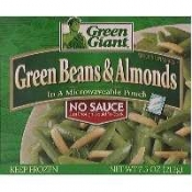 Green Giant Green Beans & Almonds No Sauce 7.5oz. PKG product image